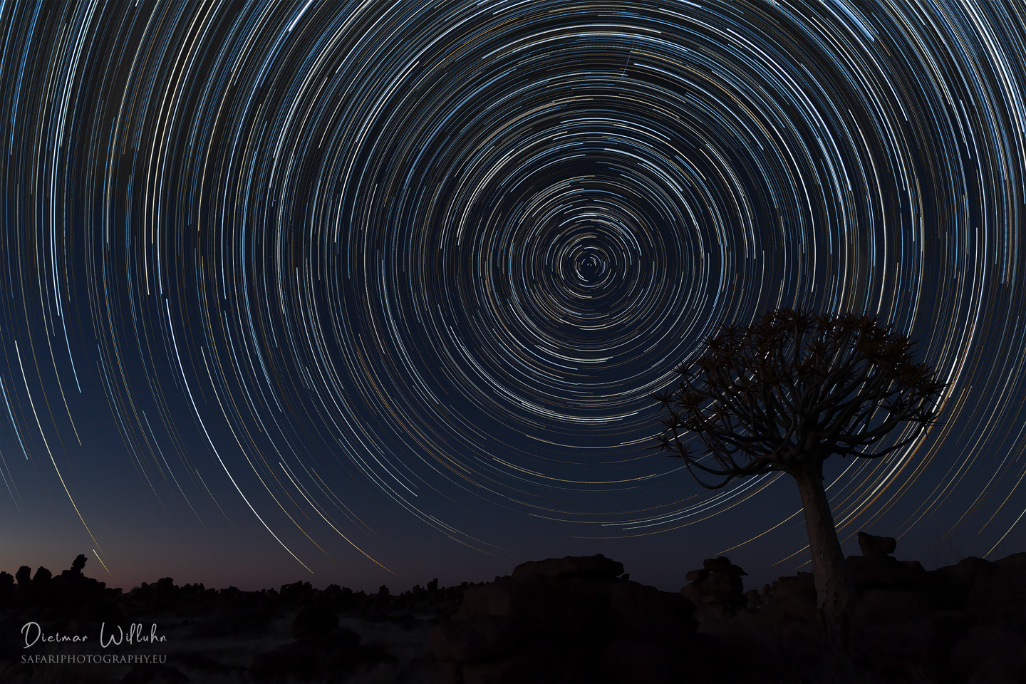 Star Trails - Namibia